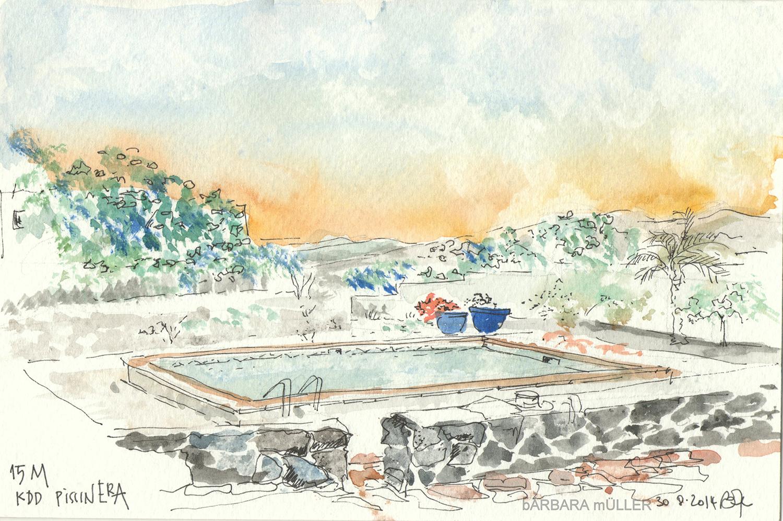 pisinca kddada lanzarote islas canarias dibujos de Bárbara MÜller, amigos y fotografía