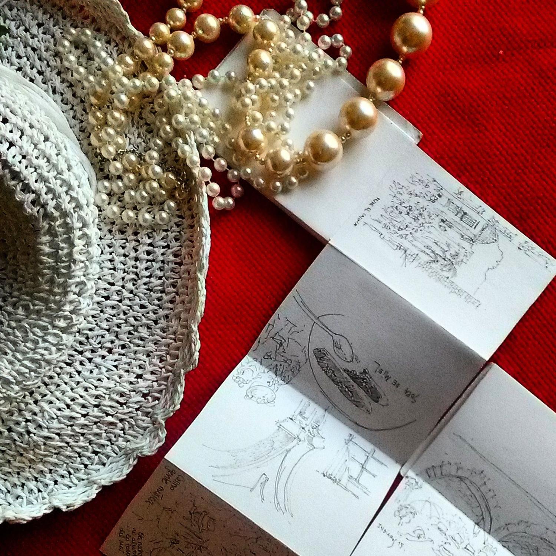 recordando instagram barbara müller dibujos de lanzarote islas canarias carnaval de los indianos Santa Cruz de la Palma