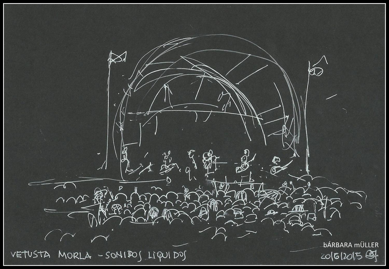 Bárbara Müller dibujos urban sketecher lanzarote  islas canarias dibujos paisaje sonidos liquidos música la geria vetusta morla anaut los 300 guagua bodega rubicón bodega la geria vino wine  people landscape music festival