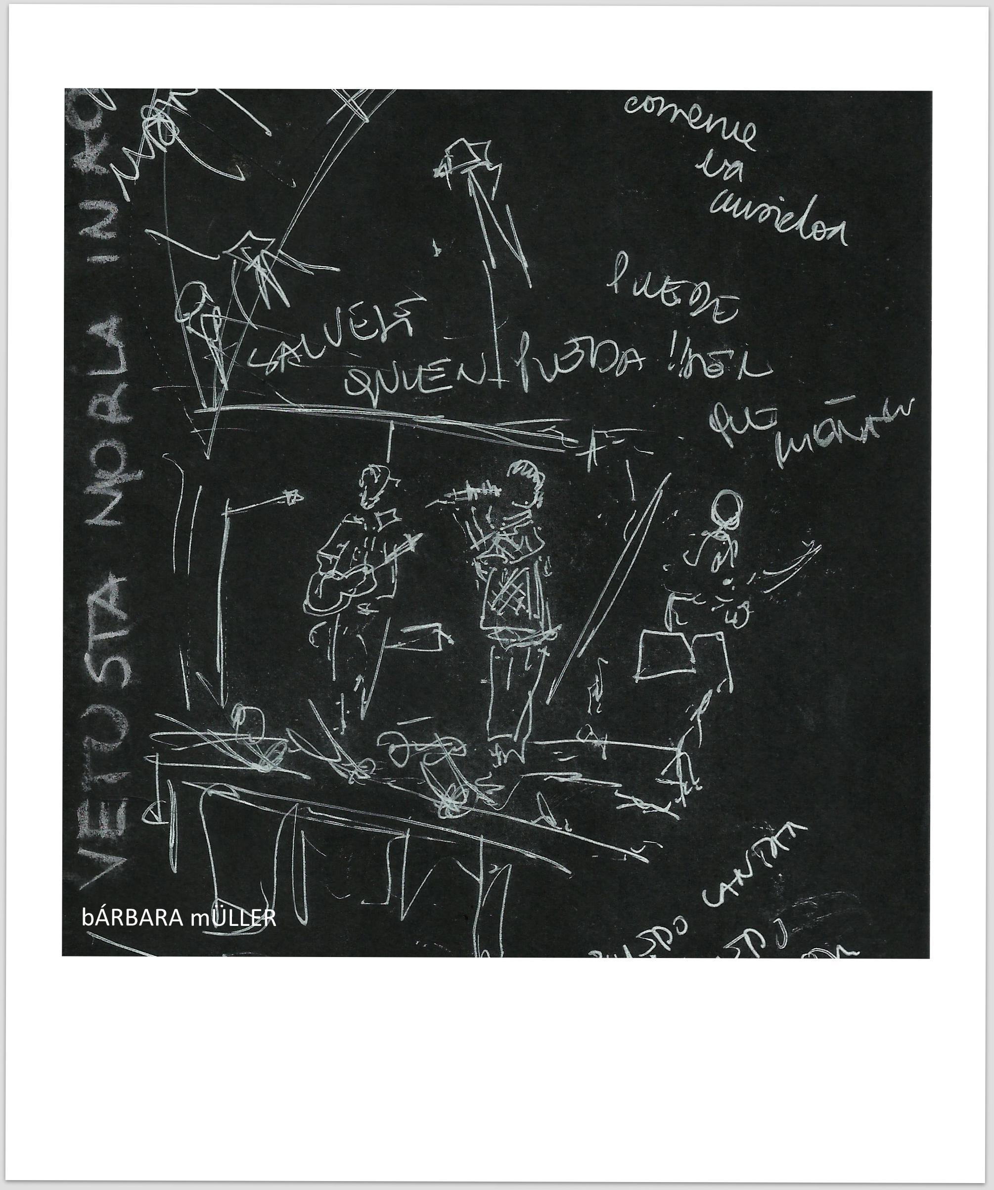 Bárbara Müller dibujos urban sketecher lanzarote  islas canarias dibujos paisaje sonidos liquidos música la geria vetusta morla anaut los 300 guagua bodega rubicón bodega la geria vino wine  people landscape music festival sálvense quien pueda