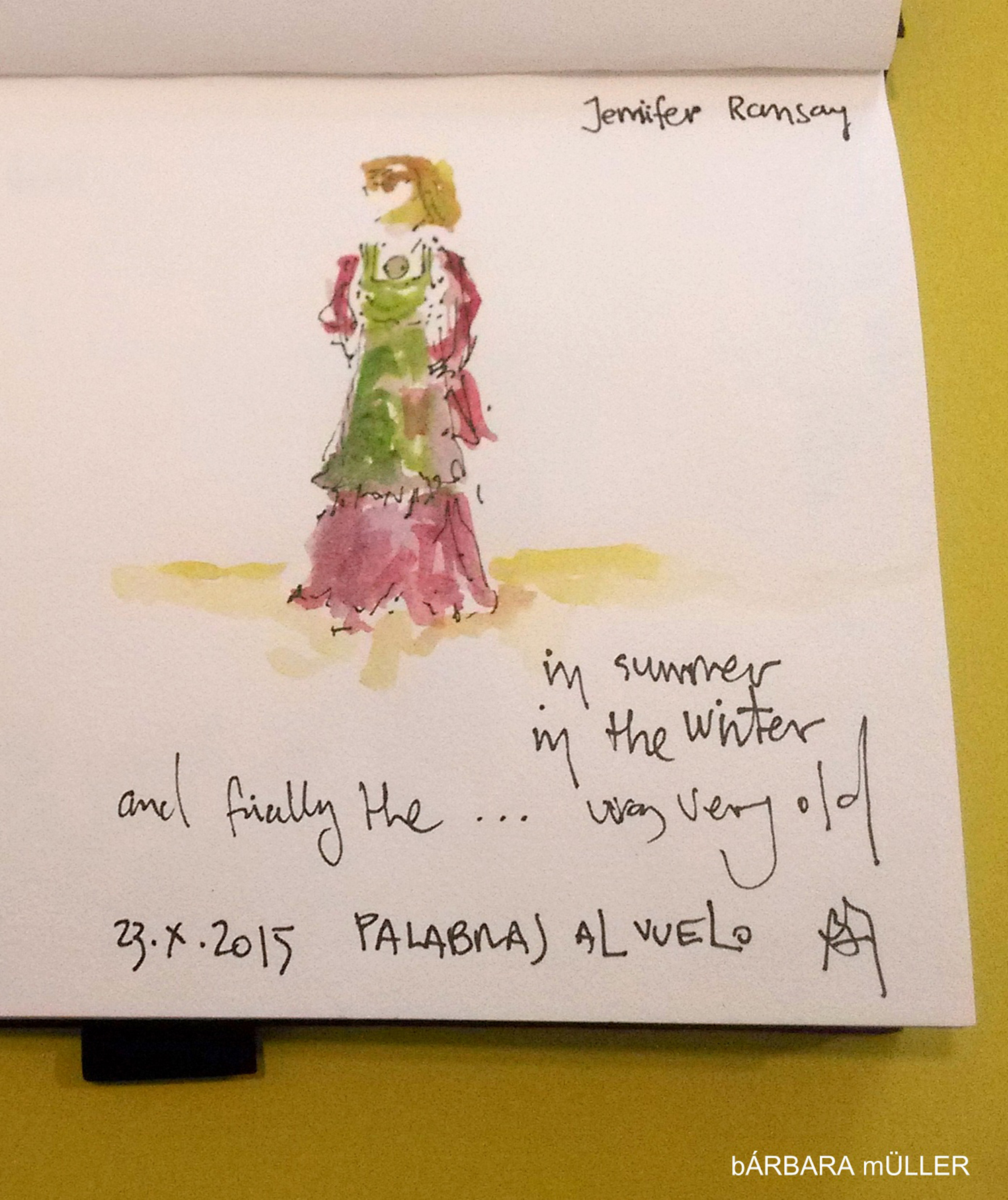 dibujos sketcher urbansketcher outline barbara muller lanzarote canary island