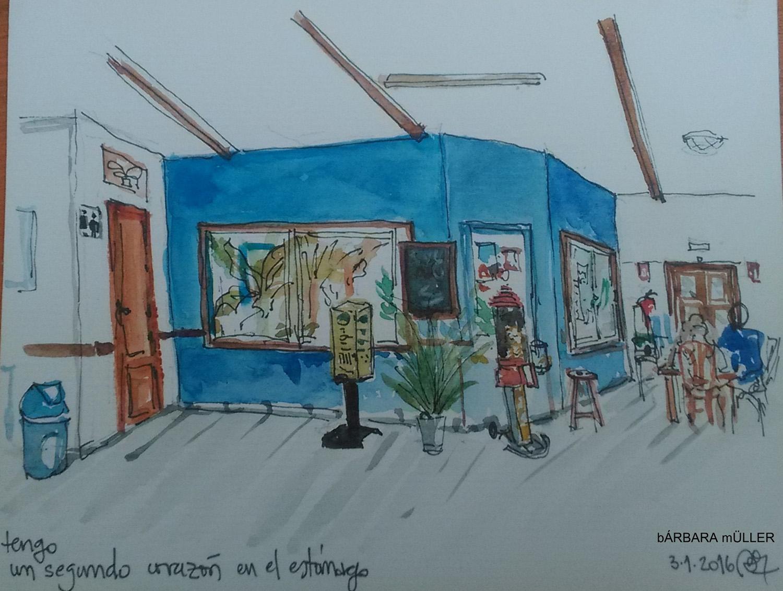 lanzarote canary island outline dibujos watercolour sketcher urban sketcher outline barbara Müller dibujos architecture usklanzarote  famara teleclub beach sanjuán surf