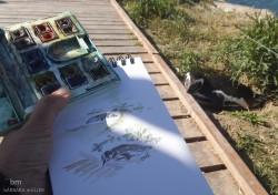 faro, barbara muller outline dibujos urban sketch nopuedodejardedibujar faro patagonia landscape peninsula valdez faro de las orcas pelicula gerardo olivares Roberto bubas