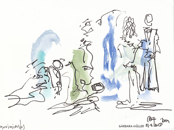 #barbara_muller_outline #nopuedoparardedibujar #música #danza #jameosdelagua #cesarmanrique #SharonFridman #musica #noche #lifestyle